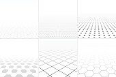 Collection of abstract white backgrounds.