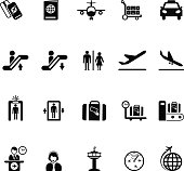 Collection of Airport icons