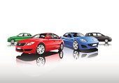 Collection of Cars Vector