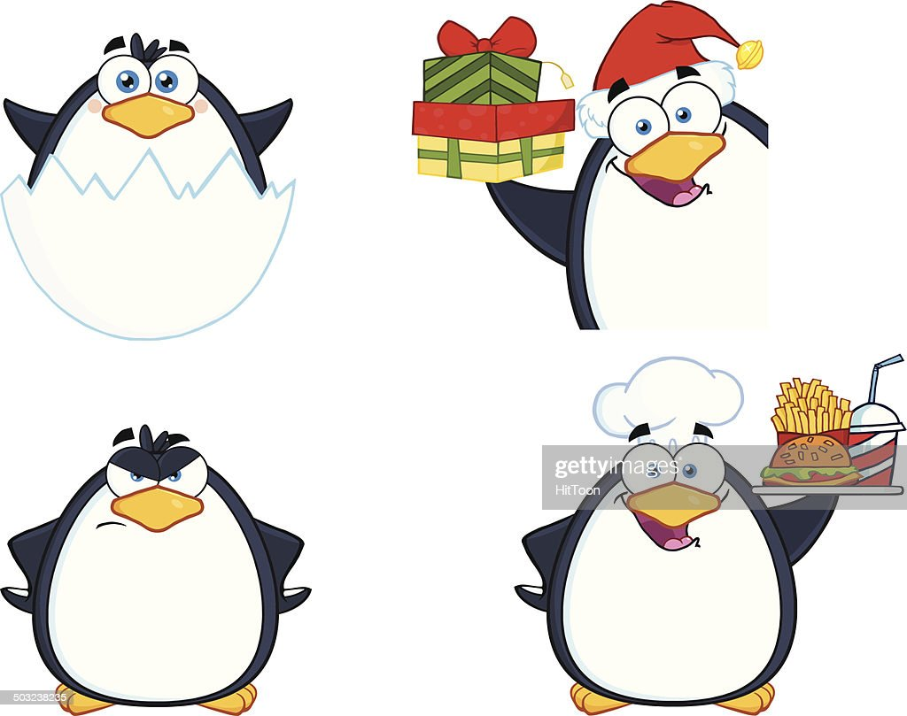 Collection of Cute Penguin - 11