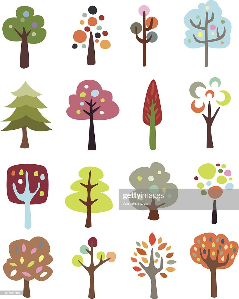 Collection of Cute Trees