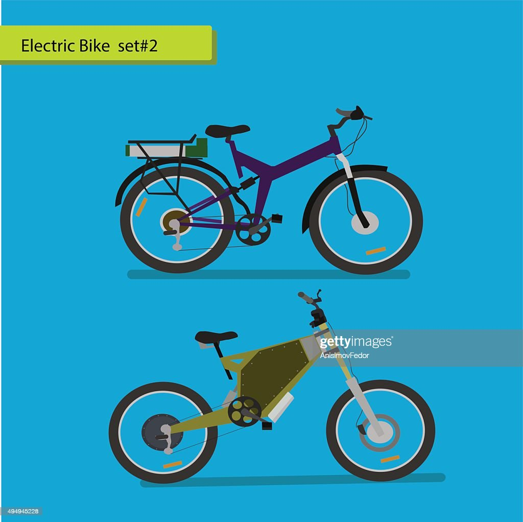 Collection of electric bikes