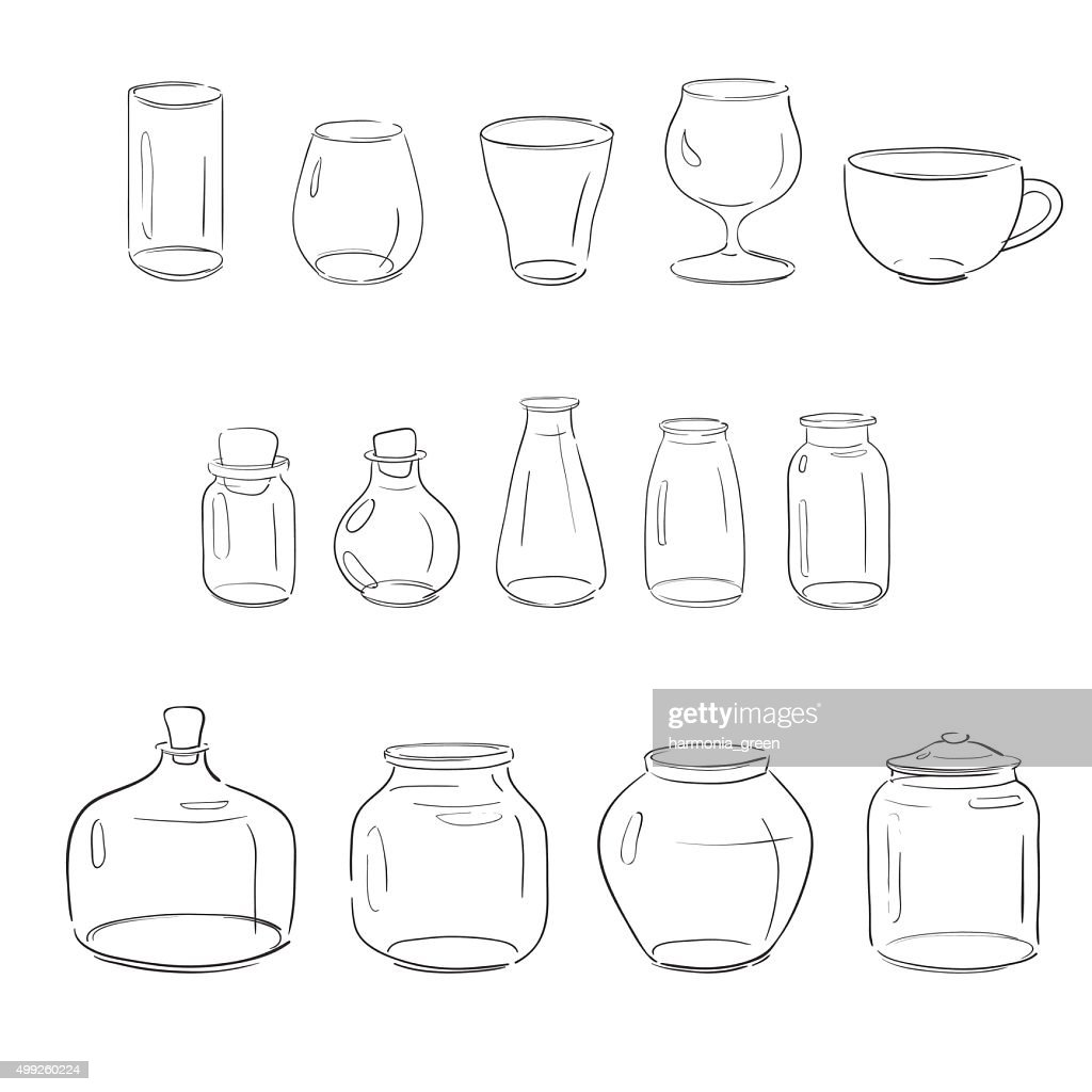 collection of glass objects