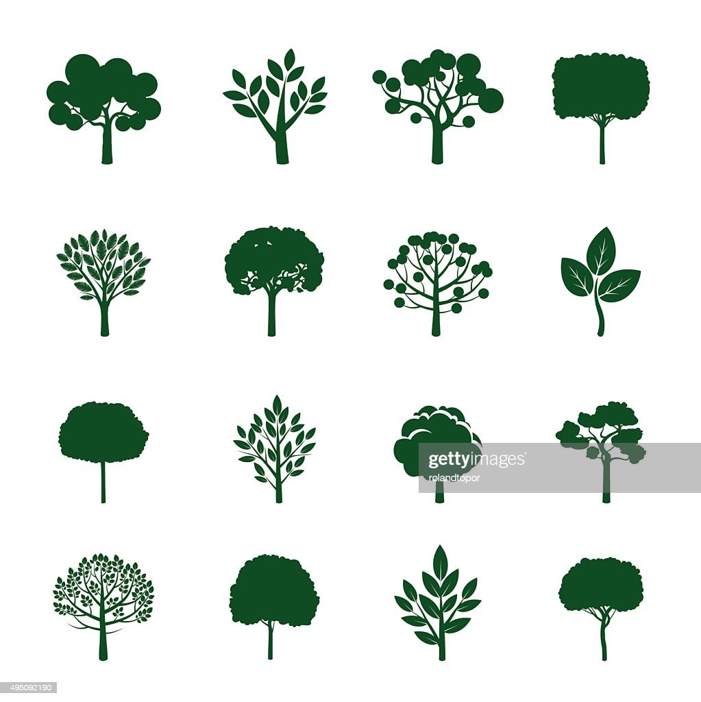 Collection of Green Trees.
