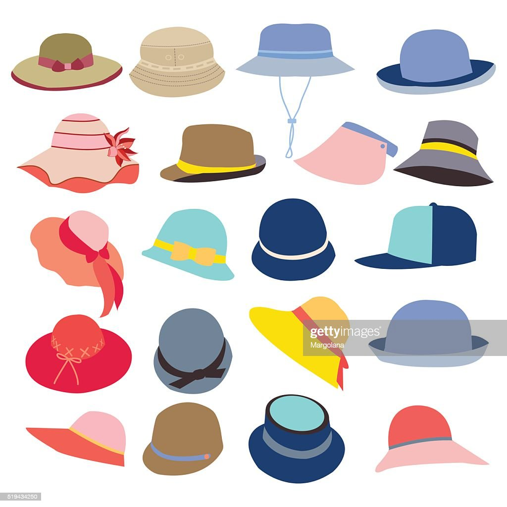collection of hats for men and women