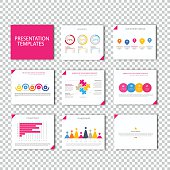 Collection of infographic template