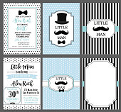 Collection of invite cards can be use for party(baby shower, father's day, wedding, birthday)