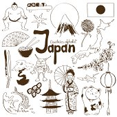 Collection of Japan icons