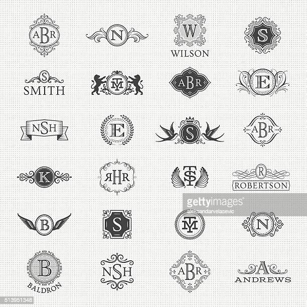 Collection of Monogram Designs