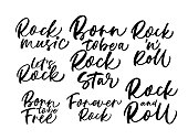 Collection of Rock phrases.
