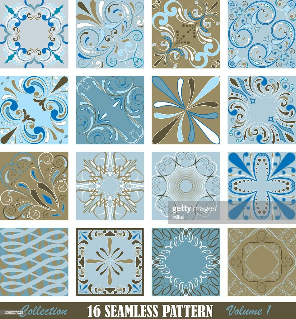 Collection of tile pattern