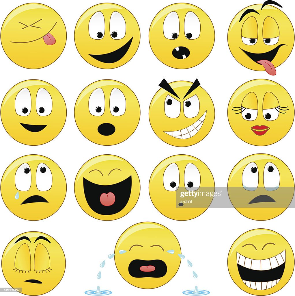 Collection of vector smiles