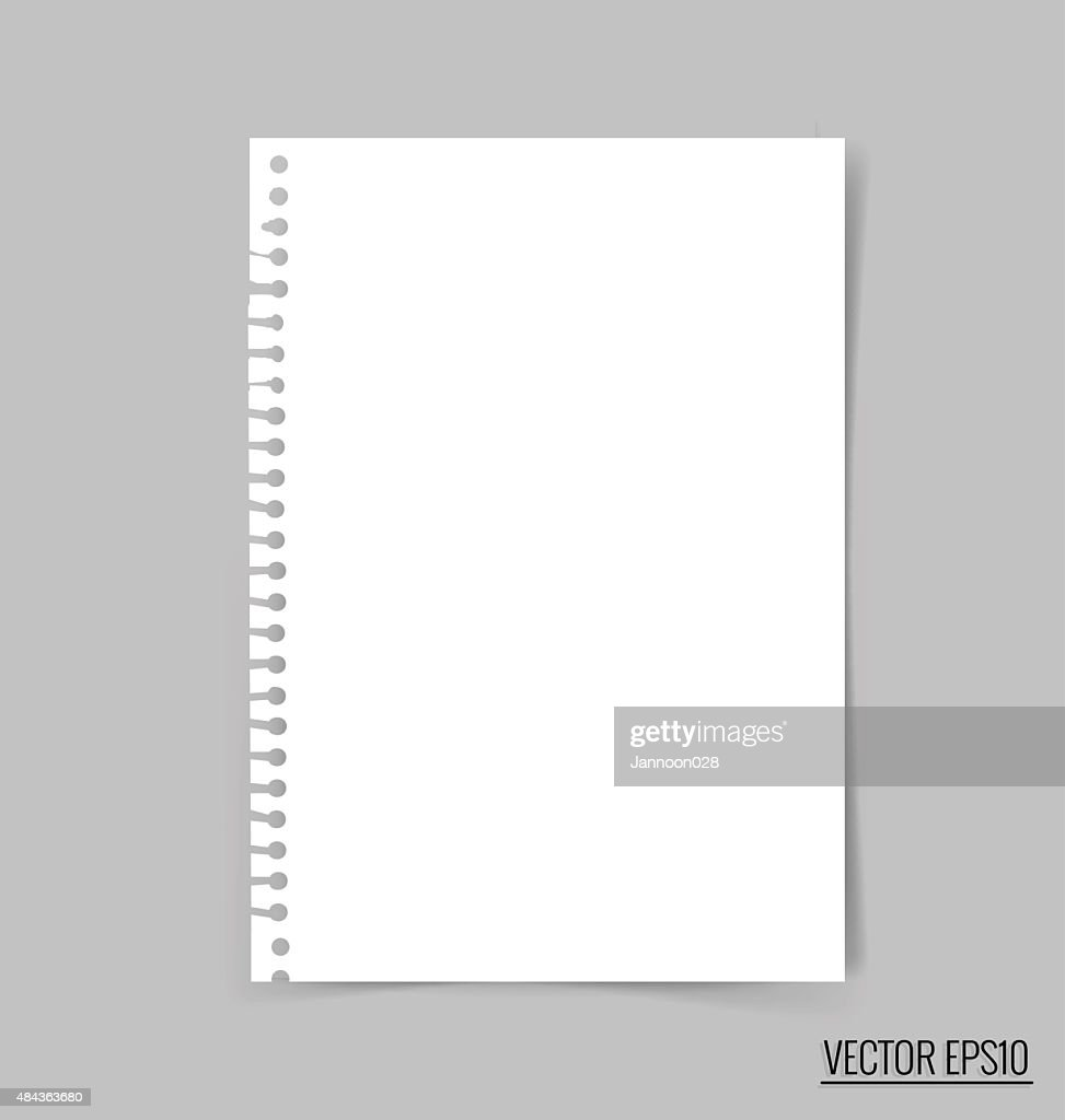 Collection of white note papers, ready for your message.