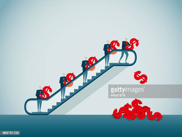 collection - escalator stock illustrations, clip art, cartoons, & icons