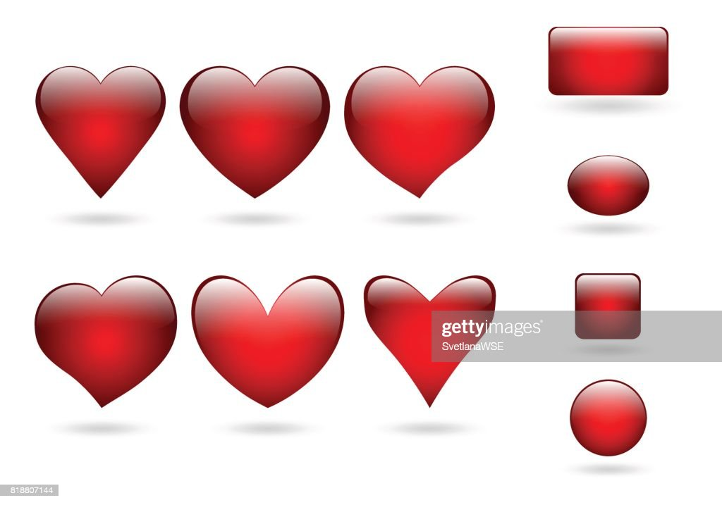 Collection volume icon hearts