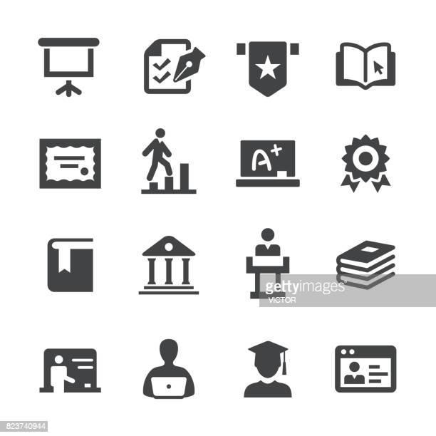 College Icons Set - Acme Series