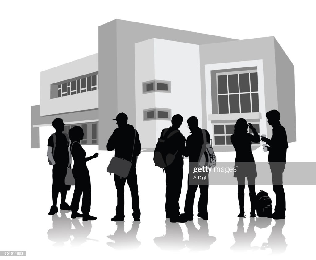 CollegeAcquaintances : stock illustration