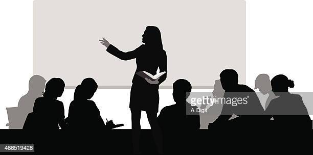 Lecture Hall Stock Illustrations And Cartoons | Getty Images