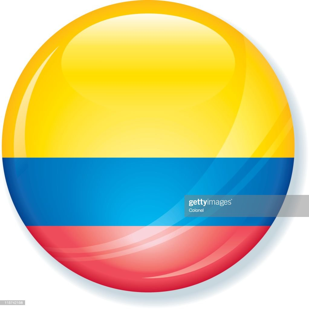 Colombia Flag Super Glossy