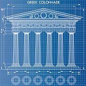 Colonnade blueprint