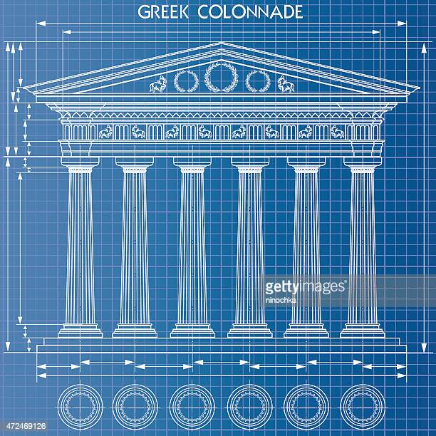 Colonnade blueprint