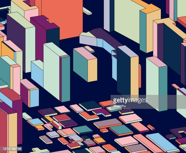 color abstract building model - model to scale stock illustrations, clip art, cartoons, & icons