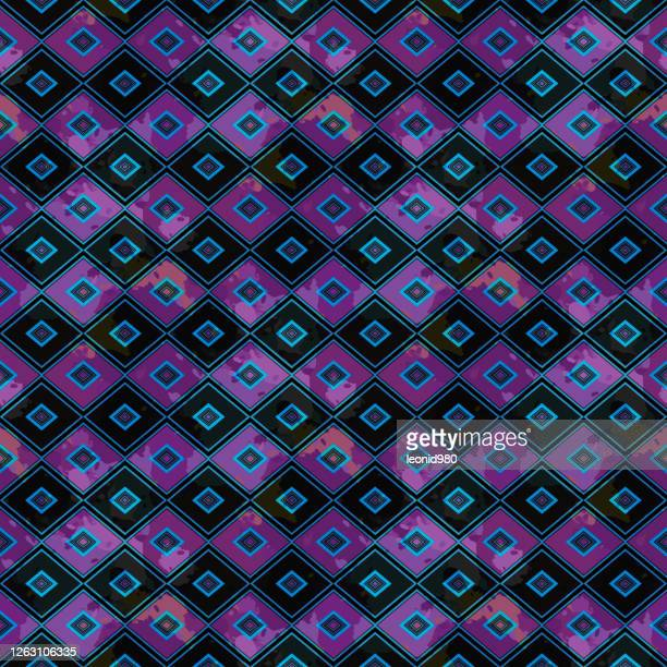 color abstract ethnic seamless pattern graffiti