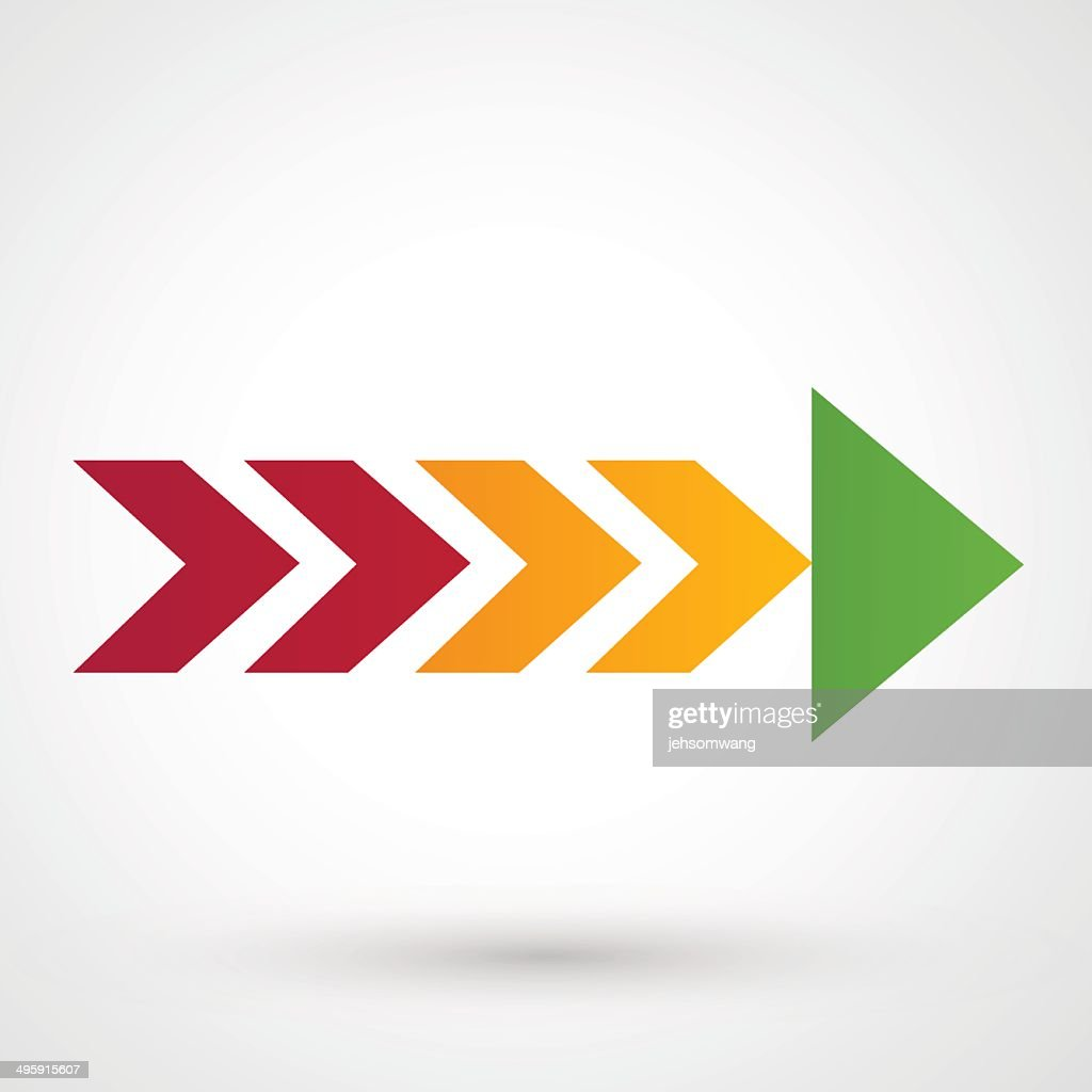 Color arrow icon