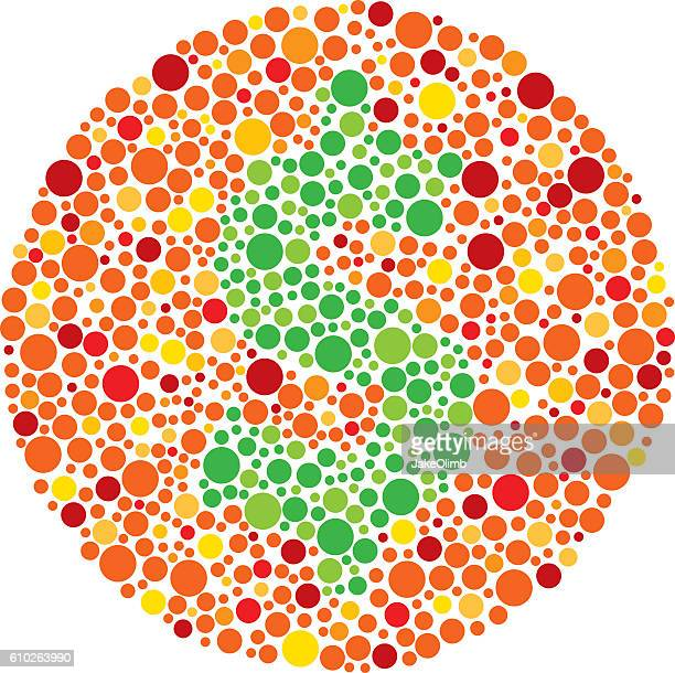 color blind money - ophthalmology stock illustrations, clip art, cartoons, & icons