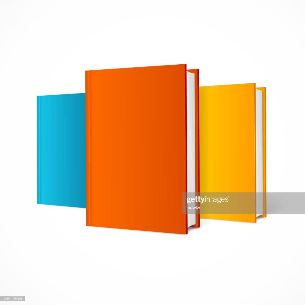 Color Book Set. Vector