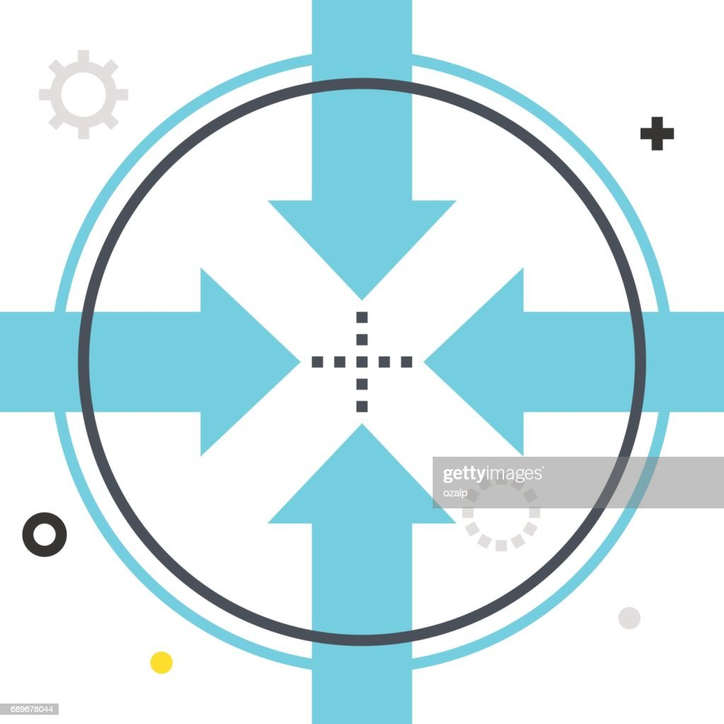 Color Box Icon Connection Illustration Icon Vector Art | Getty Images