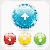 Color buttons with white arrow symbol
