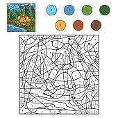 Color by number (turtle)