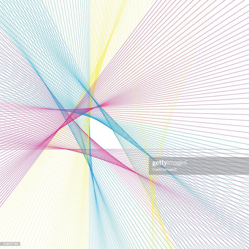 Farbe Computergenerierte-Muster : Vektorgrafik