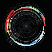 color data line pattern background