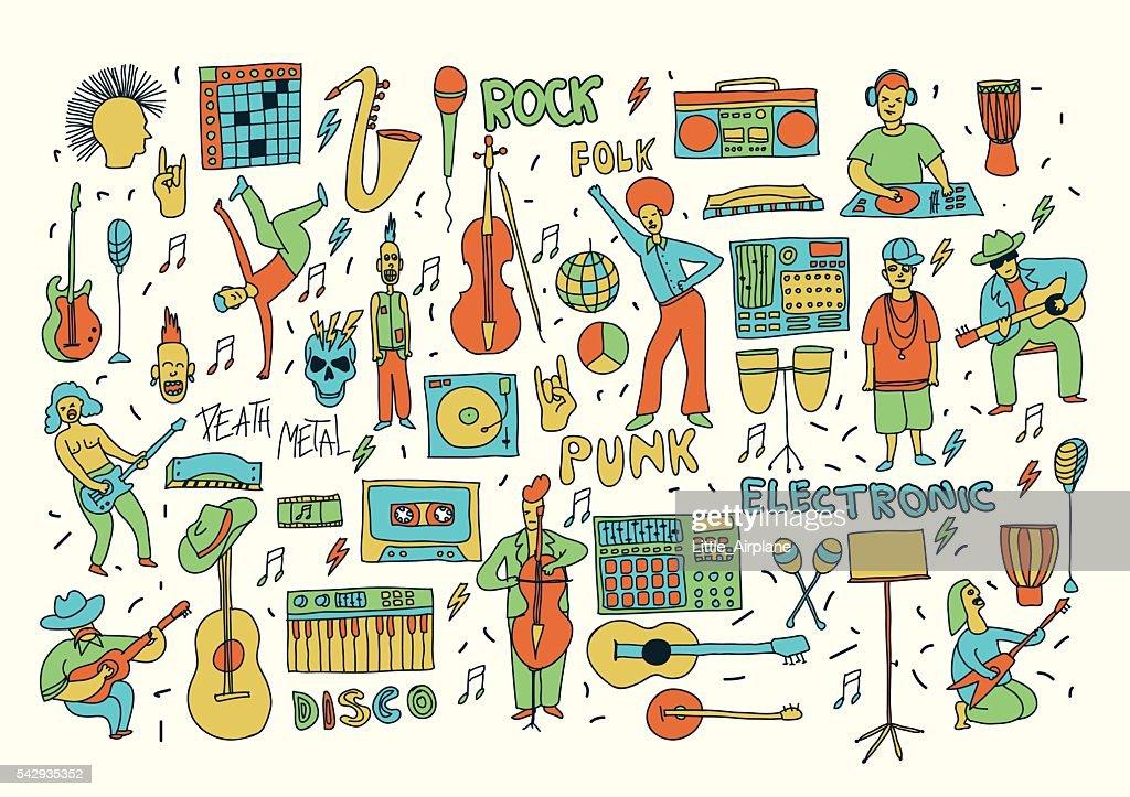 color doodle music