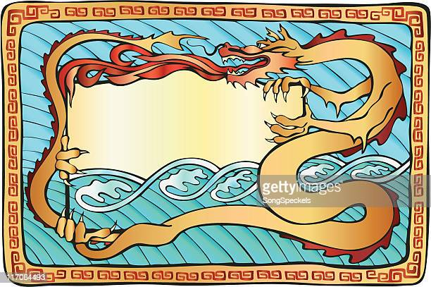 Color Dragon Illustration
