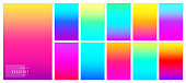 Color gradient background. Creative soft colorful texture design for mobile app