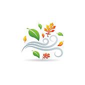 Color Icon - Autumn leaves