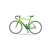 Color Icon - Road bicycle