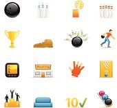 Color Icons - Bowling