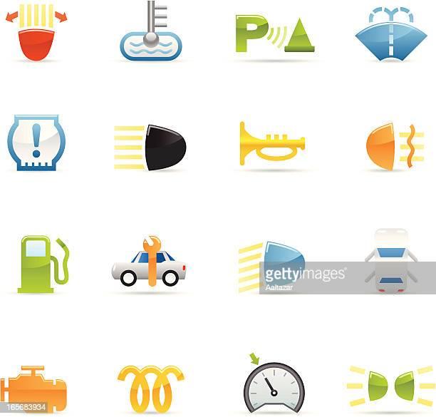 Color Icons - Car Control Symbols