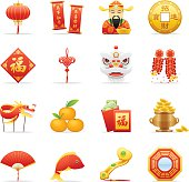 Color Icons - Chinese New Year