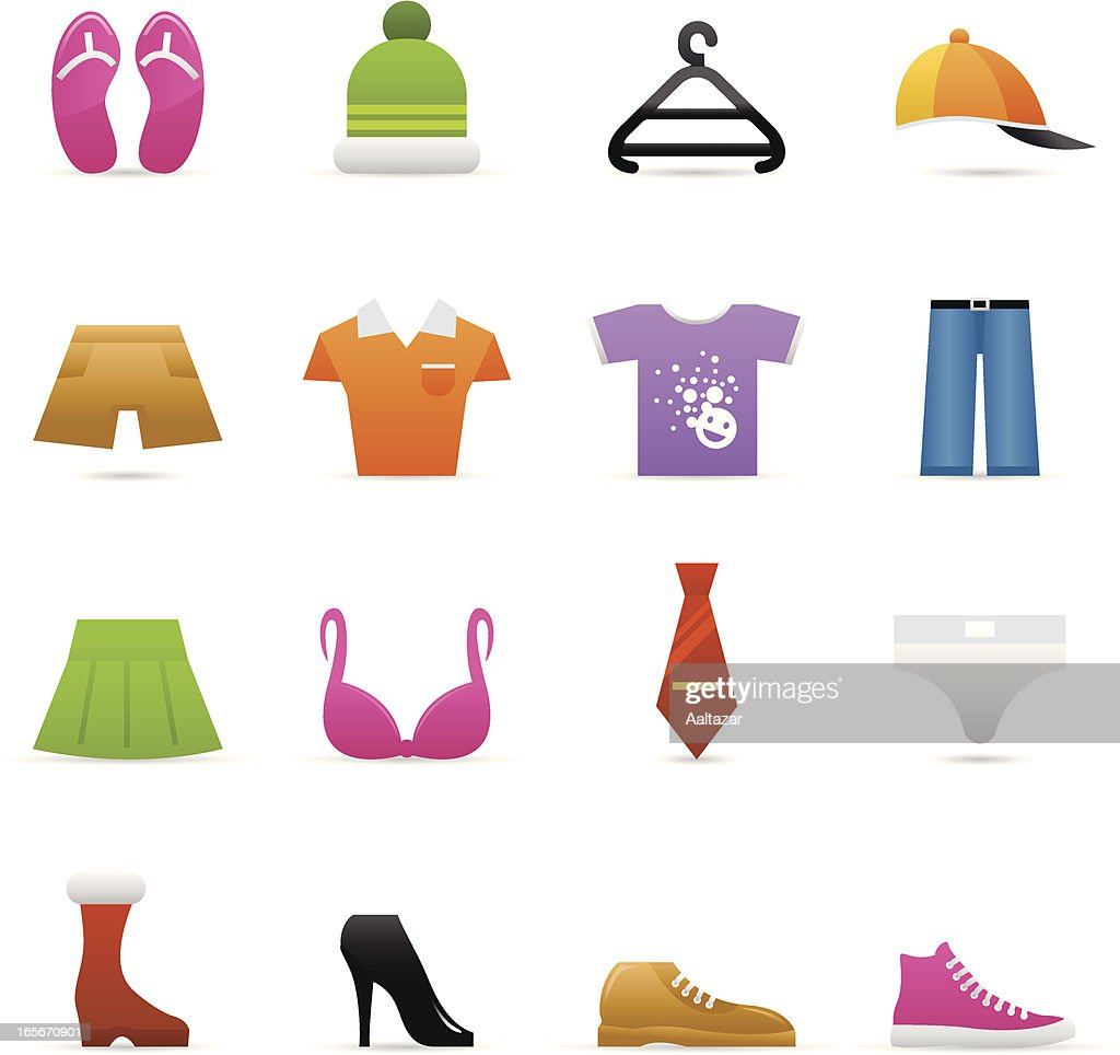 Color Icons - Clothes