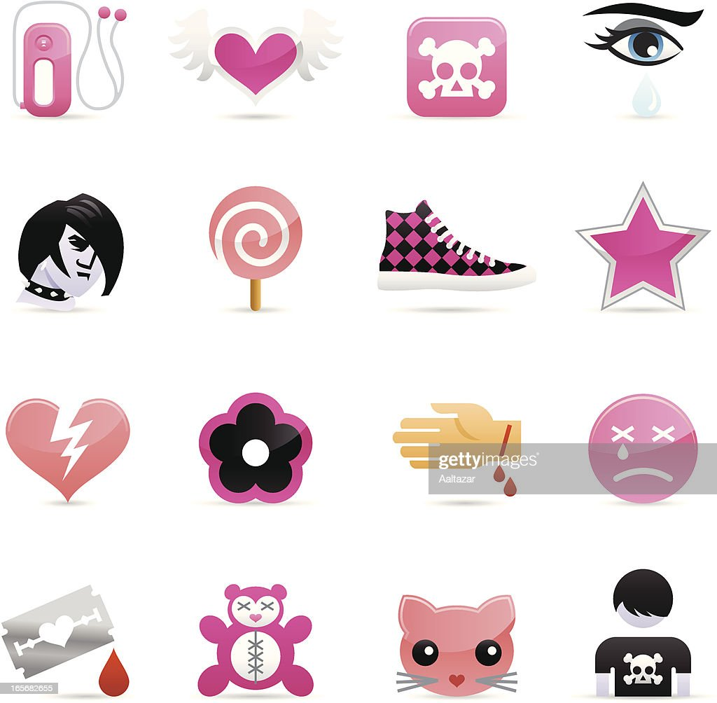 Color Icons - Emo