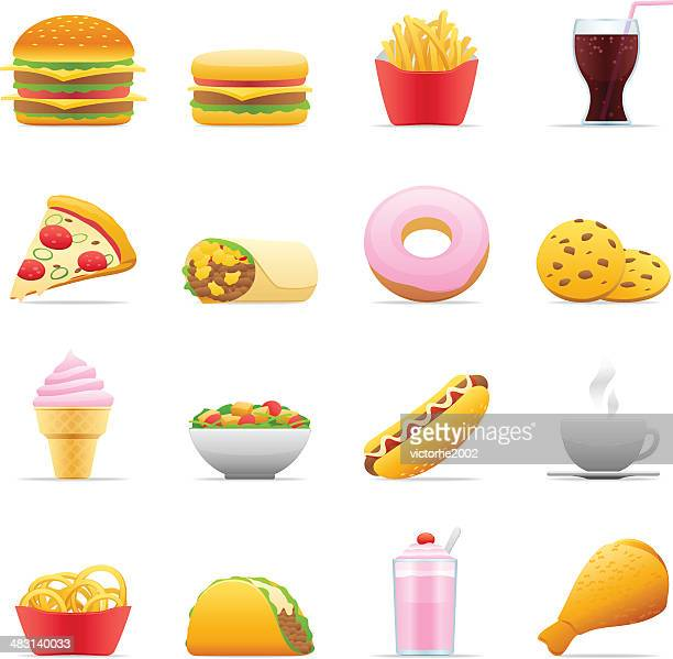 Color Icons - Fast Food
