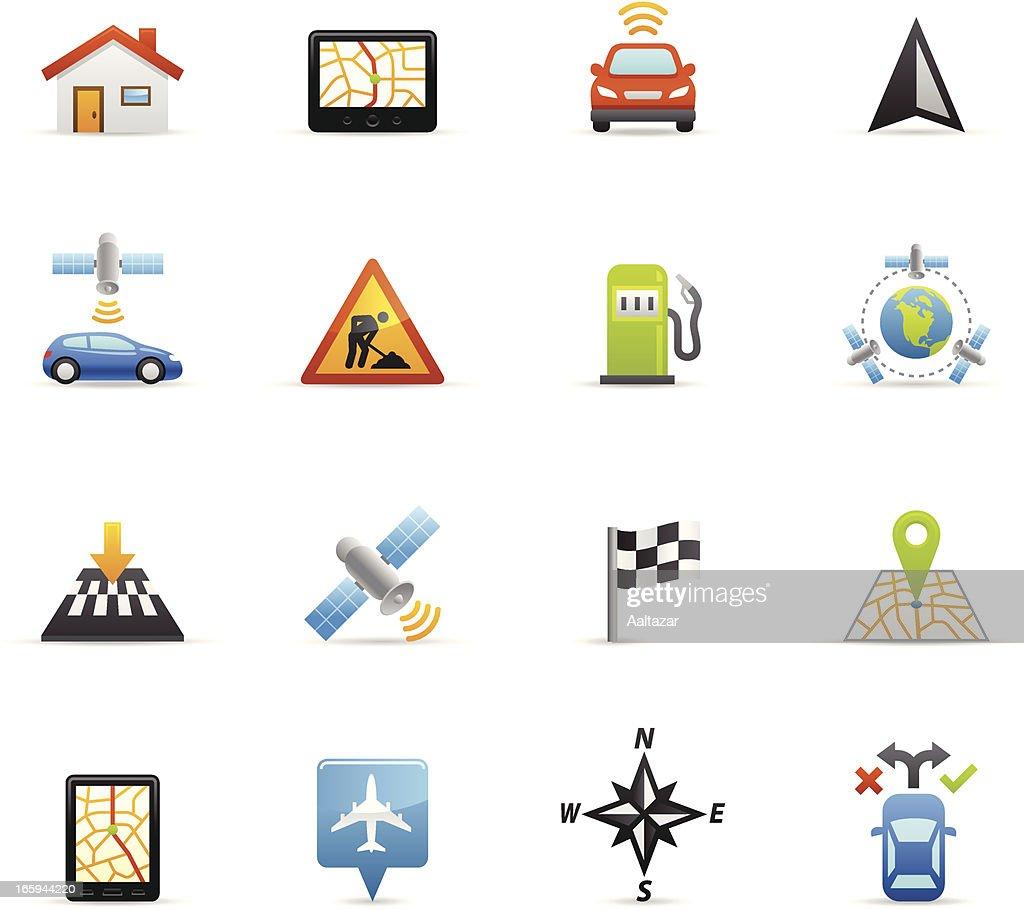 Color Icons - GPS Navigation
