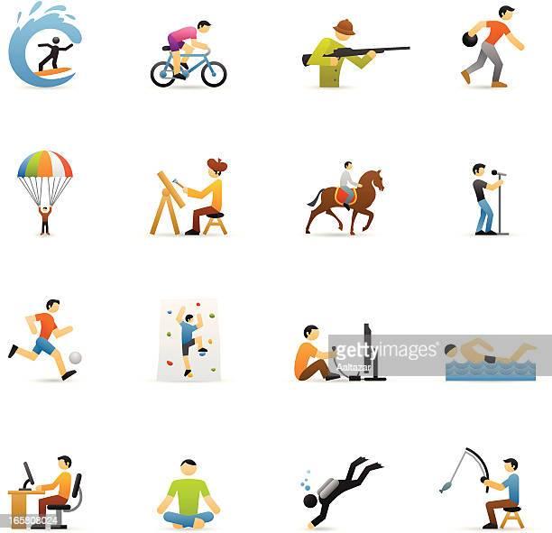 Farbe Icon-Hobbys