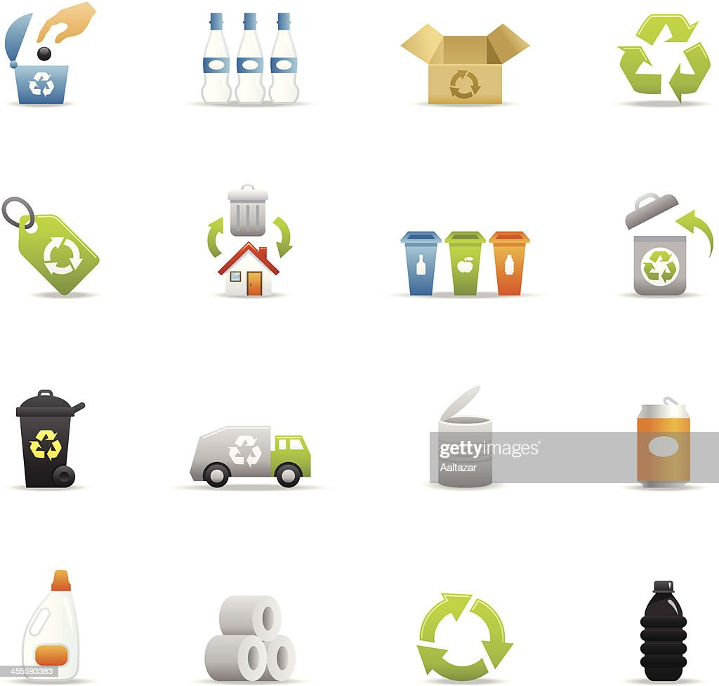 Color Icons - Recycle