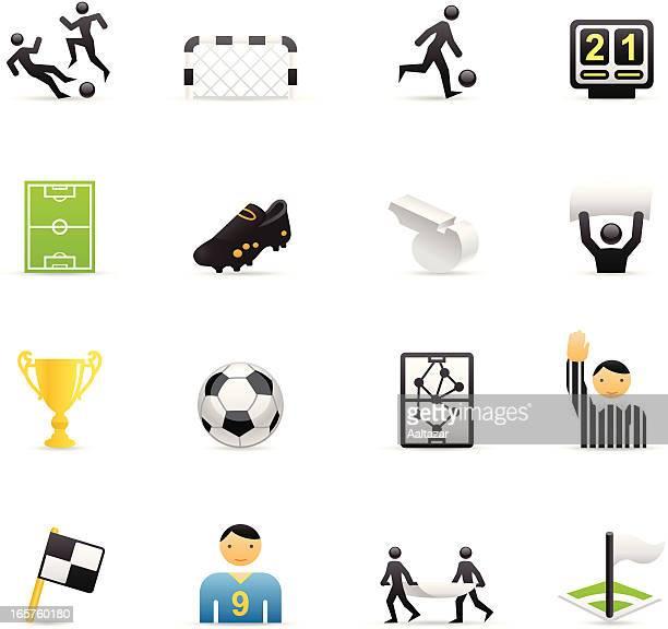 Cor ícones-Futebol